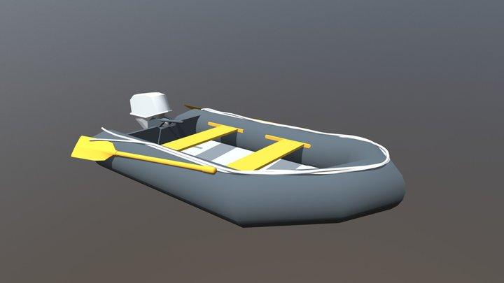 Pontoon Model 3D Model