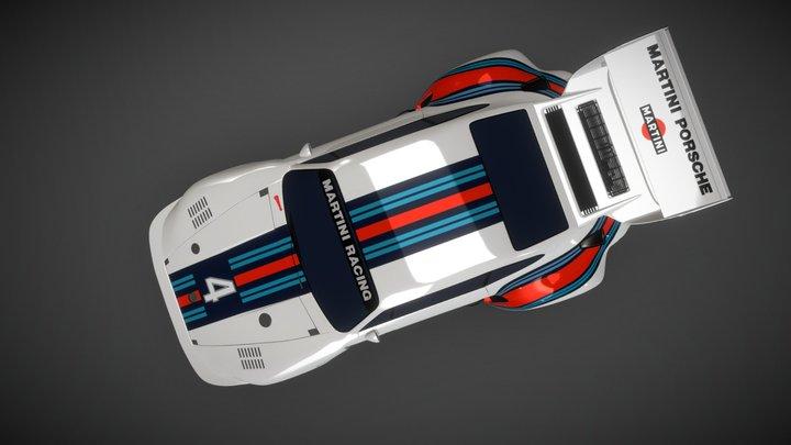 Porsche 935 Baby 3D Model