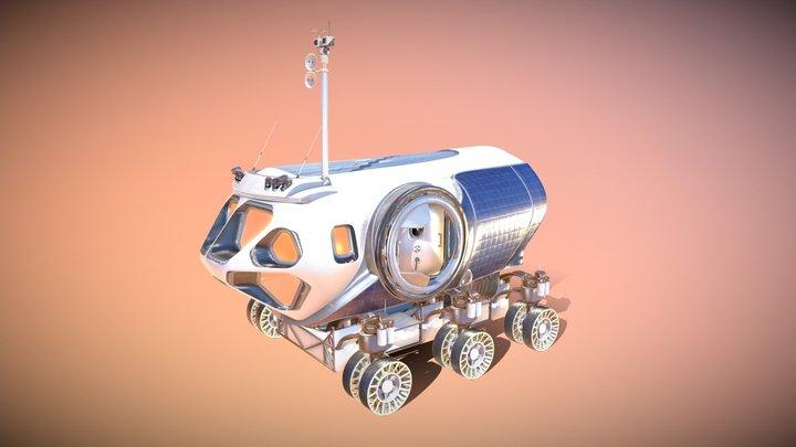 [MMSEV] Space Exploration Vehicle (SEV) 3D Model