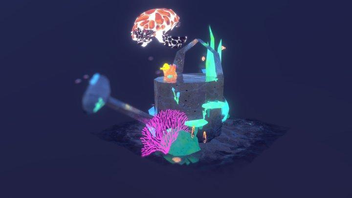 Octopus's Garden 3D Model