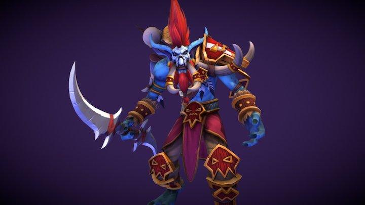Vol'jin, Leader of the Darkspears 3D Model