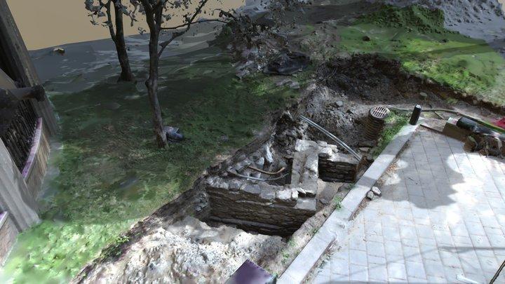 Vestiges archéologique, Université McGill 3D Model