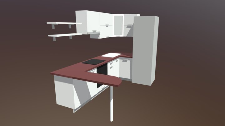 Nestekitchen3 3D Model