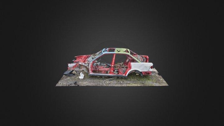 RandomLab 020 Hyljätty auto /// Abandoned Wreck 3D Model