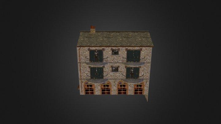 Huis_Restaurant 3D Model