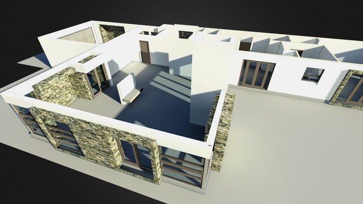 House PlanE_02 3D Model