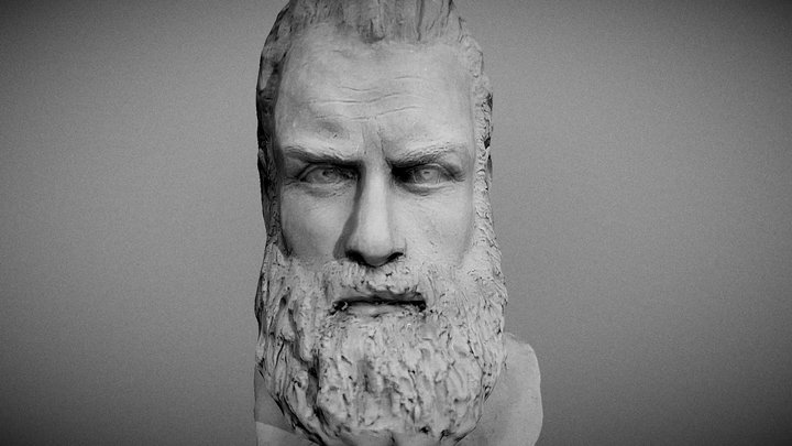 Tormund Giantsbane clay sculpture 3D Model