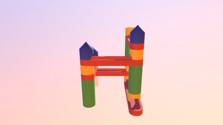Marble Run 3D Model 3D Model