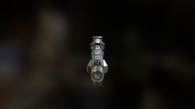 Blaster Gun 3D Model