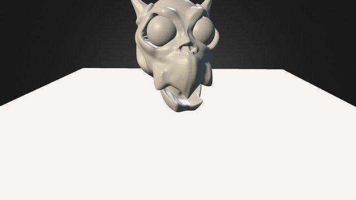 Craneo 01 3D Model