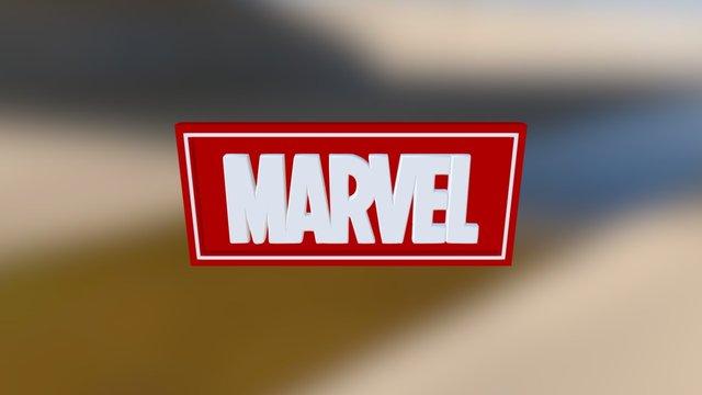 [SGP35] Marvel Logo 3D Model