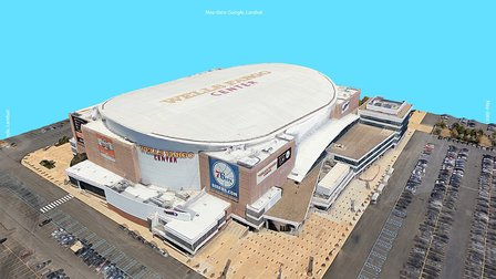 Google Earth 3D Export: Wells Fargo Center 3D Model