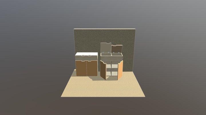 Carvan1 3D Model