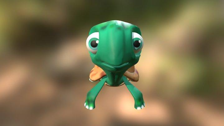 Turtle. 3D Model