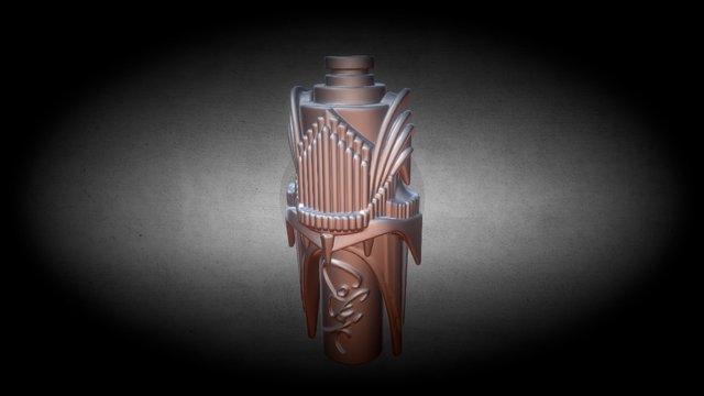 Barad Dur Drip Tip 3D Model