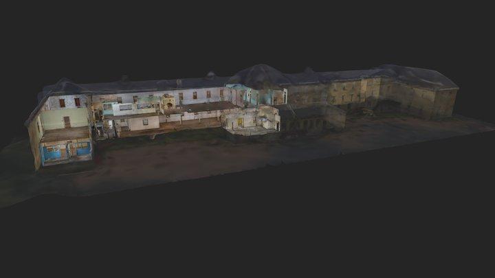 Building 103 - Fort Snelling - Minnesota 3D Model
