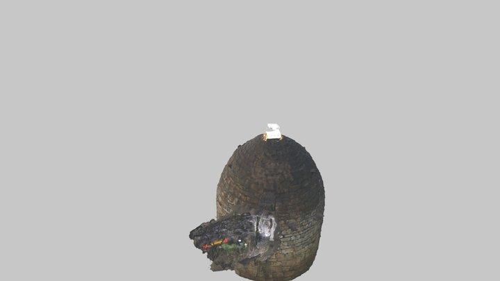 Pou De Gel De Santa Coloma De Queralt 3D Model