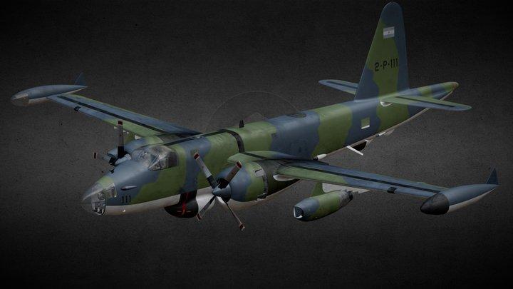 Lockheed P-2 Neptune 3D Model