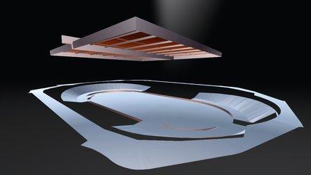 Hisense Arena (20512-SURC-Rev 0) 3D Model