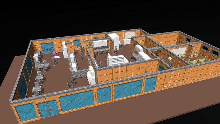 F_L_0_Tut 3D Model