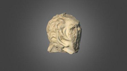 Κεφαλή αγαλματίου Σατύρου 3D Model