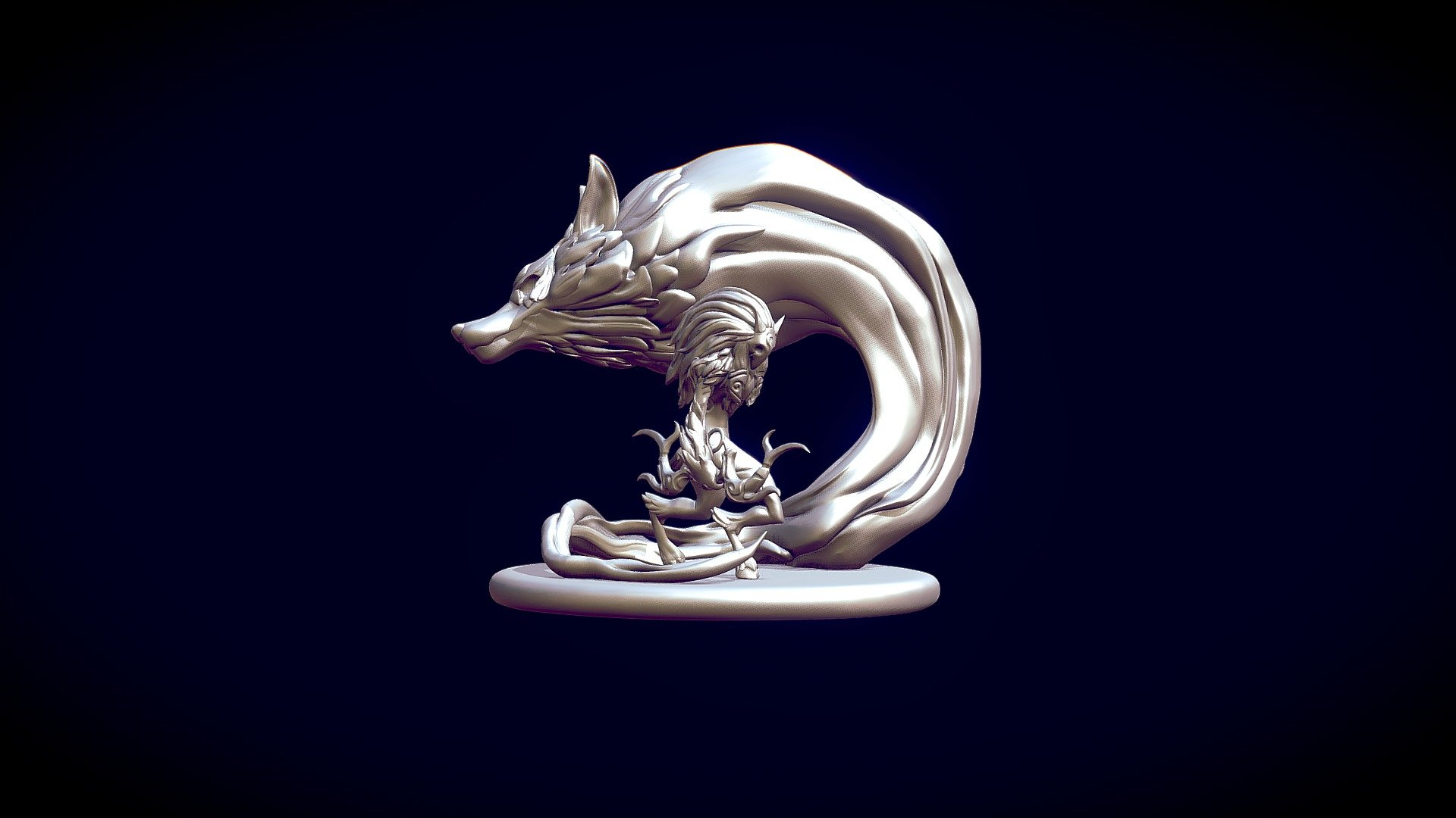 Kindred League Of Legends Action Figure 3d Model By Bremy