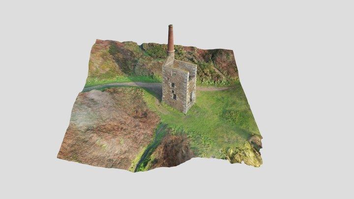 Wheal Prosper Engine House 3D Model