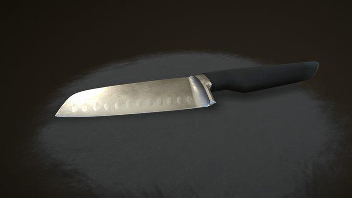Kitchen Knife 3D Model