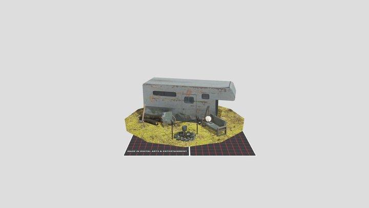 1DAE15_LaforceBisong_Five_Props 3D Model