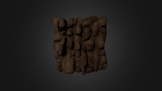 MINE - Wall 3D Model