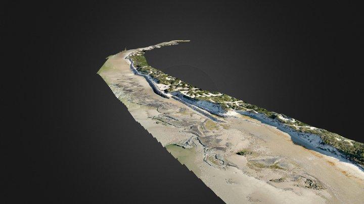 Le littoral de Ste Cécile (62) en mai 2019 3D Model