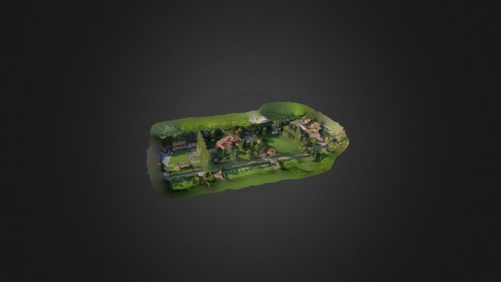 Casa Campestre (Low Res) by SS 3D Model