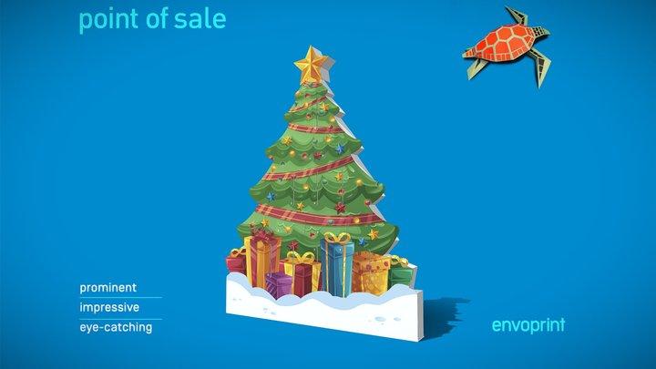 Christmas AC 3D Model
