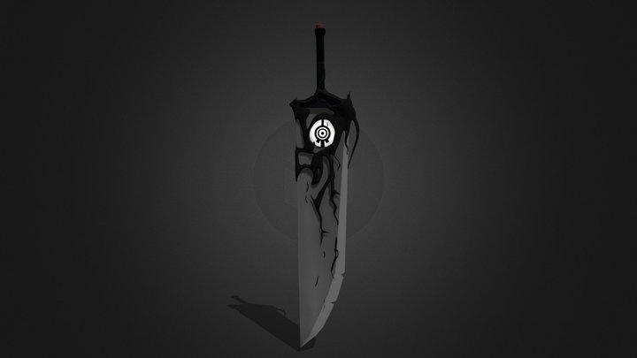 Code Lyoko Sword 3D Model