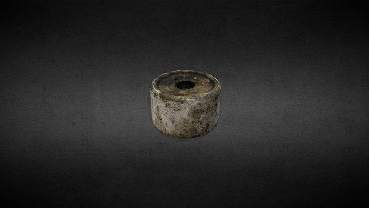 Proyectil de gas GL-203 L 3D Model