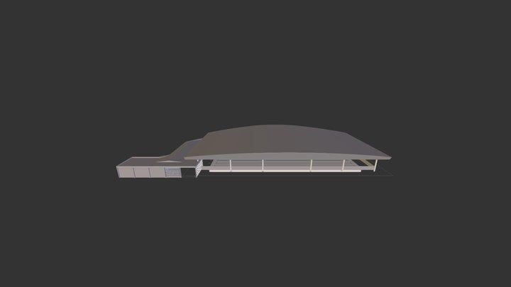 Rebouças Piscina Cobertura I 3D Model