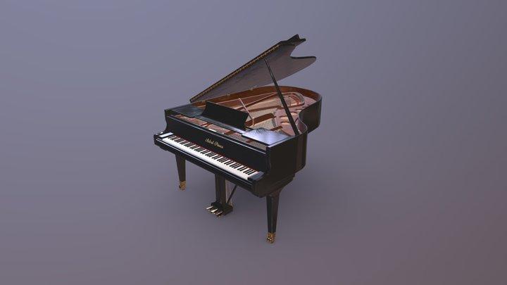 Grand Piano - UE4 Ready 3D Model