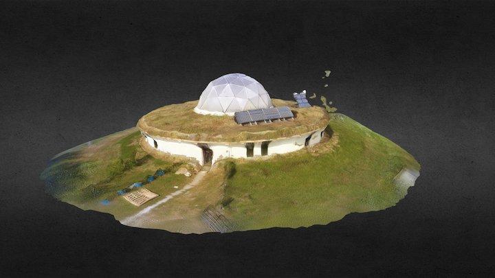 Spiral Ridge Round House 3D Model