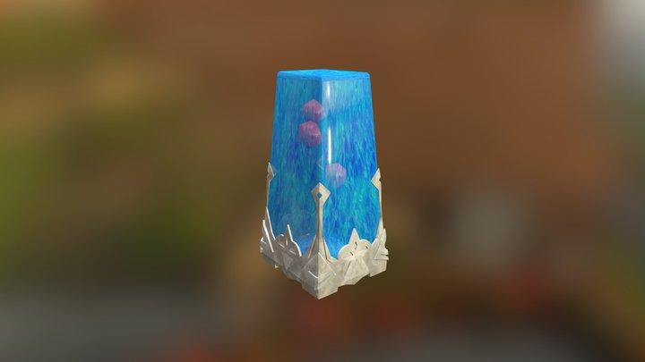 Warp Crystal 3D Model