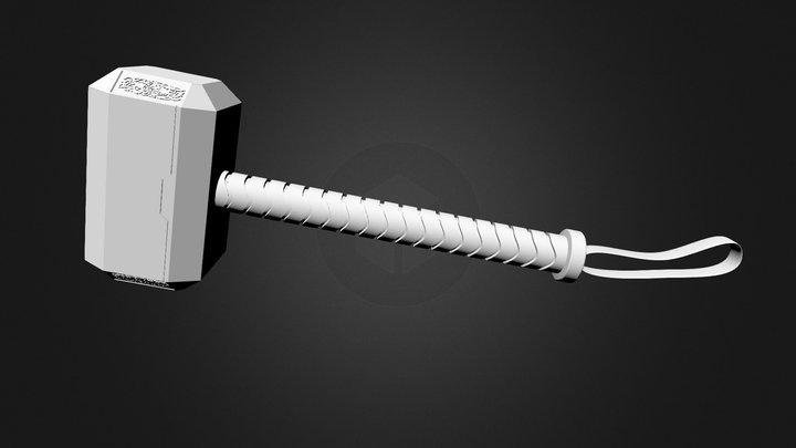 Martillo_Thor 3D Model