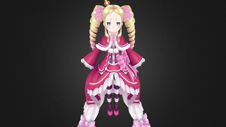 ベアトリス(Beatrice) of Re:ゼロから始める異世界生活 3D Model