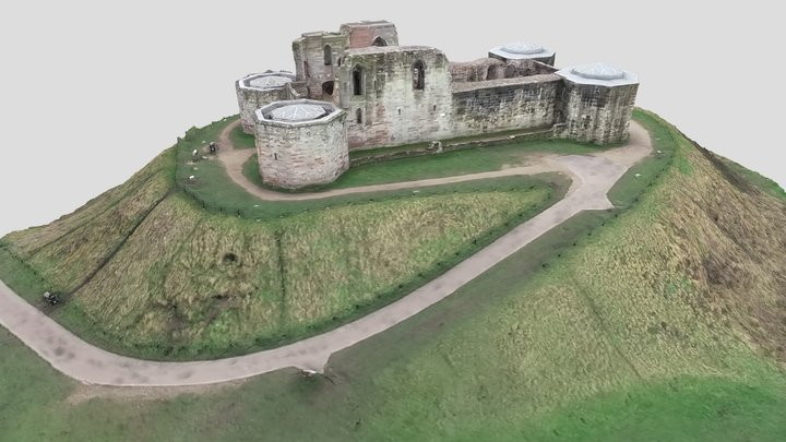 Stafford Castle 3D Model