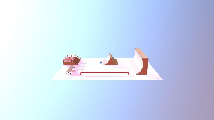 Skateboard Park - Week4 3D Model