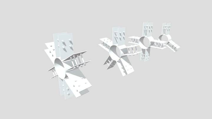 Ray Hub 3D Model