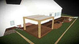 3D Terrasse 3D Model