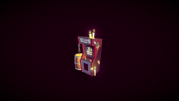Stairs Dungeon coin-op 3D Model