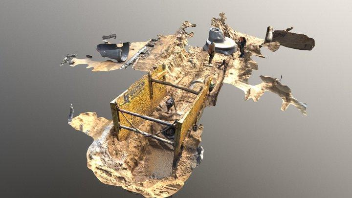 Riolering FBX BeeldKragt 3D Model