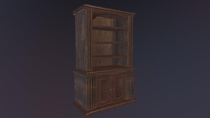 Vintage shelving 3D Model