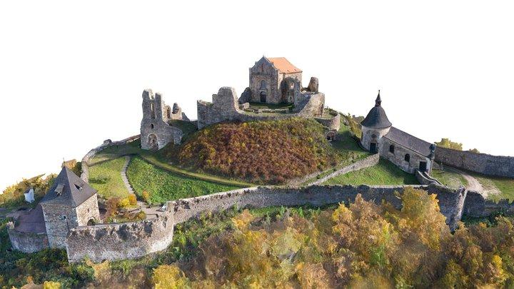 Potstejn Castle ruins 3D Model