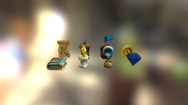 Asset_PiratesProps 3D Model